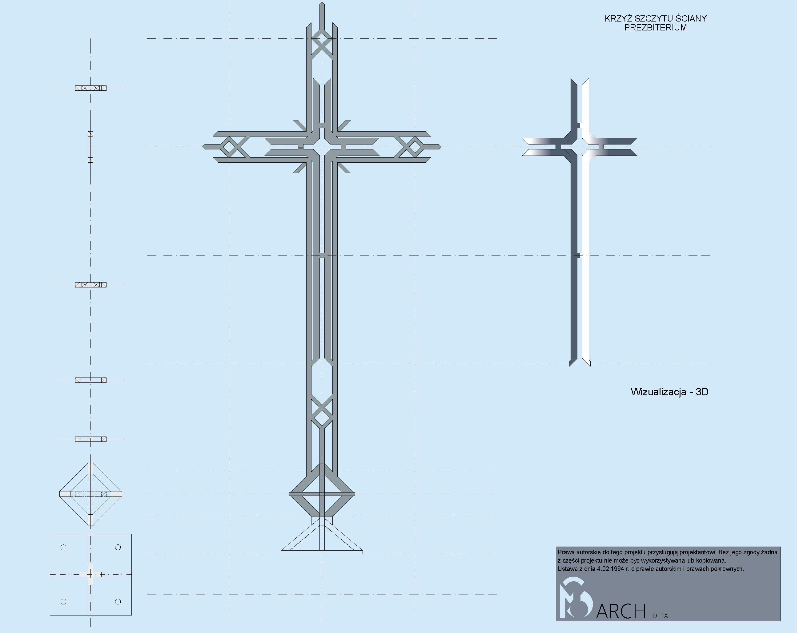 Detal krzyż 1