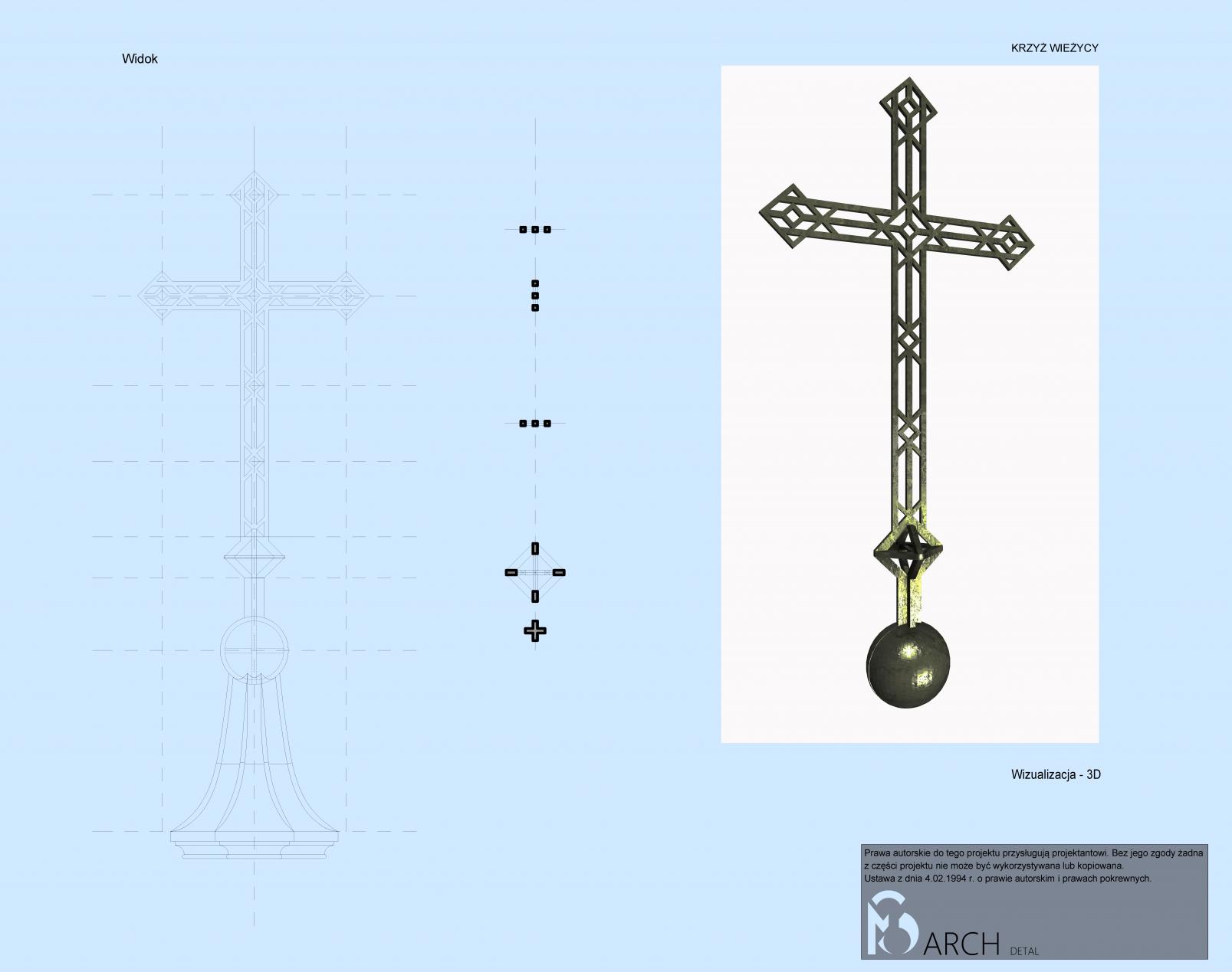 Detal krzyż 2
